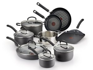 T-fal Hard Anodized 14 Piece Cookware Set
