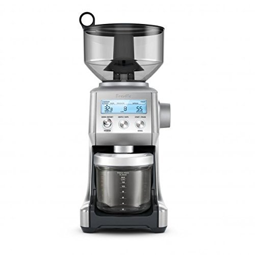 Breville Smart Electric Grinder Pro Coffee Bean Grinder - Brushed Stainless Steel