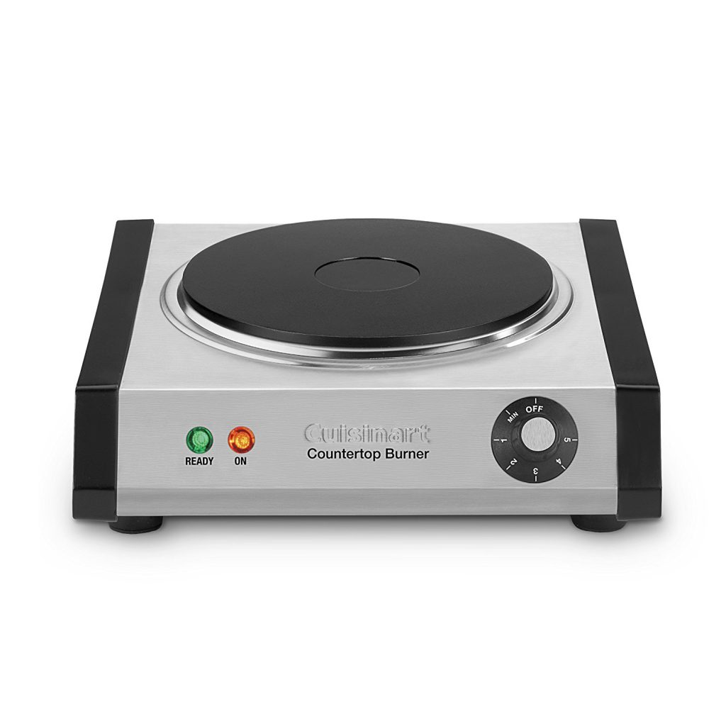 Cuisinart Cast-Iron Single Burner - Stainless Steel