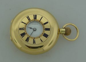 Demi Hunter Case Pocket Watch