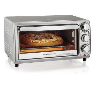 Hamilton Beach Toaster Oven Model 31143 Silver