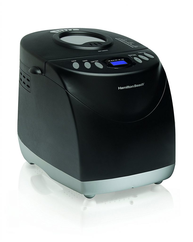 Hamilton Beach Programmable Bread Machine Black