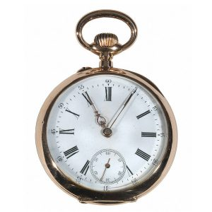 Open Case Pocket Watch
