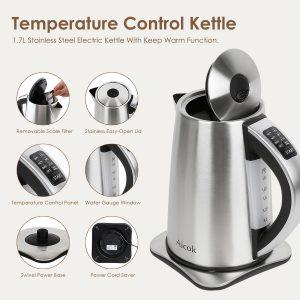 Aicok Temperature Control Kettle Features