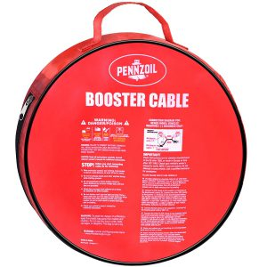 Pennzoil Jumper Cable Case With Instructions