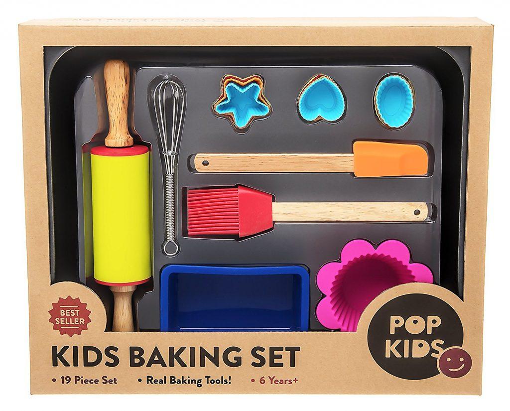 Pop Kids 19-Piece Baking Set