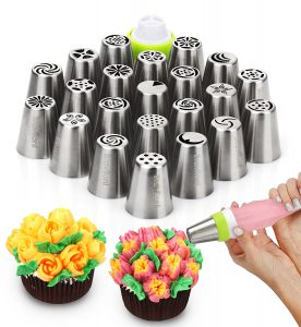 Braviloni Russian Piping Tips Set of 23