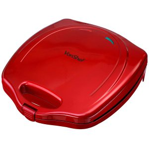 VonShef Mini Doughnut Electric Maker - Red
