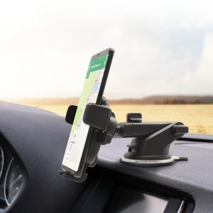 iOttie Holder Mounted On Car Dashboard