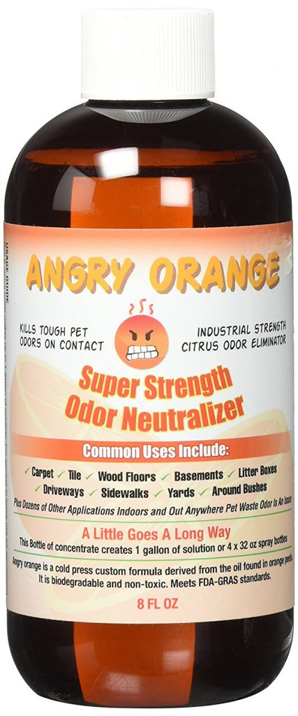Angry Orange Odor Eliminator 8 Ounces