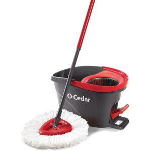 O-Cedar Easy Spin Mop Bucket System