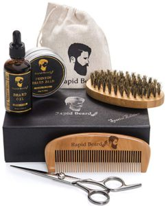 Rapid Beard Grooming & Trimming Kit for Men