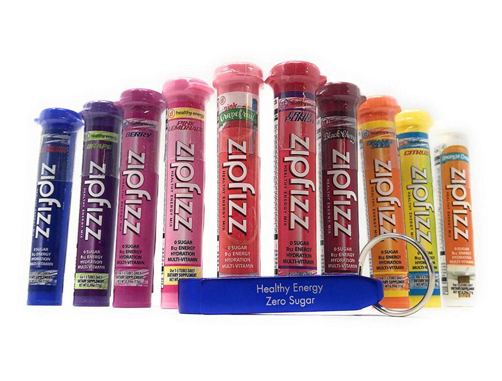 ZipFizz 10 Flavor Variety Pack