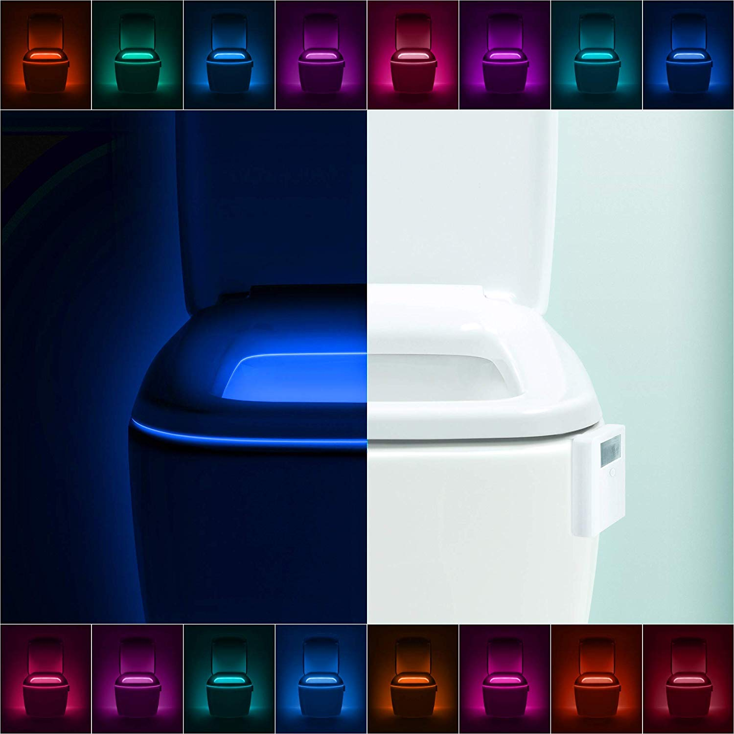 LumiLux Motion Activated Toilet Light Pros Cons Shopping.com