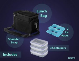 Zuzuro Lunch Bag Accessories Pros Cons Shopping.com