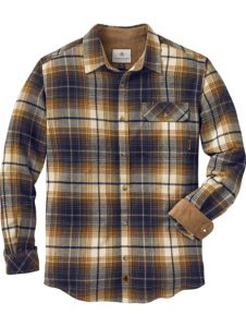 Lengendary Whitetails Arrowhead Stone Plaid Color Flannel Shirt