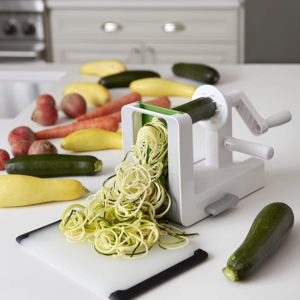 OXO Good Grips 3 Blade Spiralizer Cutting Zuccini Pros Cons Shopping.com