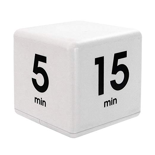 Datexx Miracle TimeCube Timer White