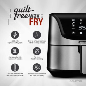 Gourmia Air Fryer Features