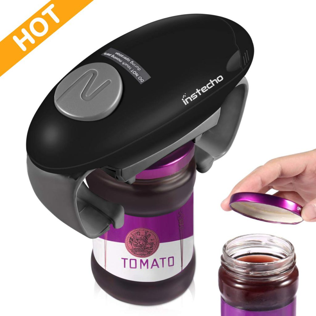 Instecho Automatic Jar Opener Black