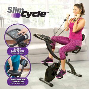 Slim Cycle 2-In-1 Stationary Bike