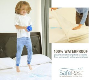 SafeRest Mattress Protector Fluid Protection