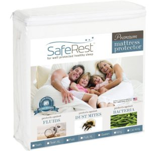 SafeRest Twin Premium Mattress Protector