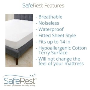 SafeRest Twin Protector Features