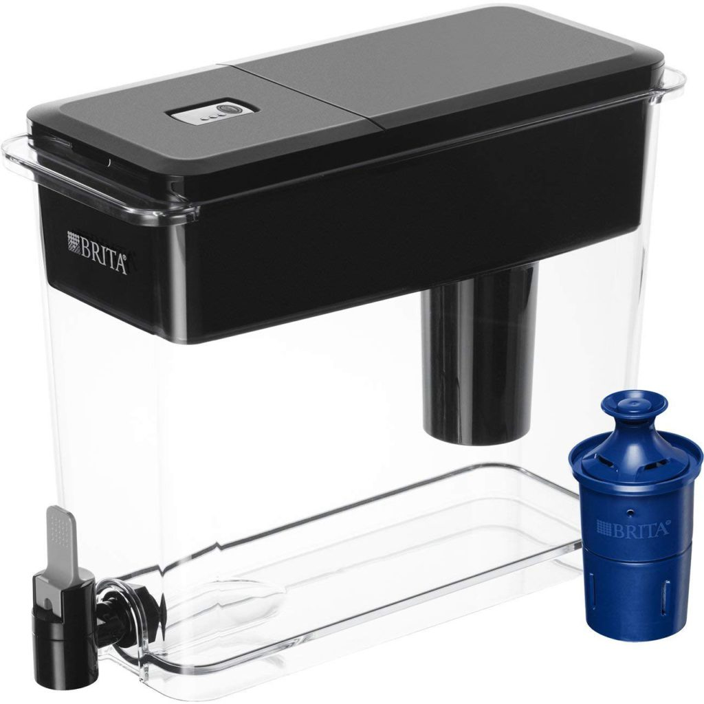 Brita 18 Cup Water Dispenser Black