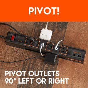 ECHOGEAR Pivit Outlets