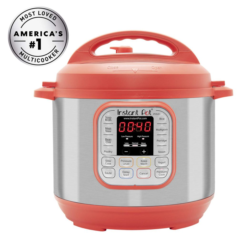 Instant Pot DUO60 6 Qt 7in1 Pressure Cooker Red