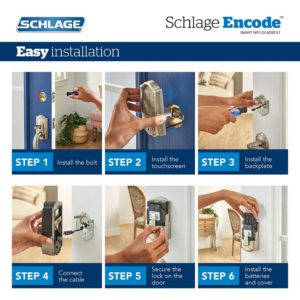 Schlage Encode Installation Instructions