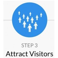 Step 3 Attract Visitors For How to Start