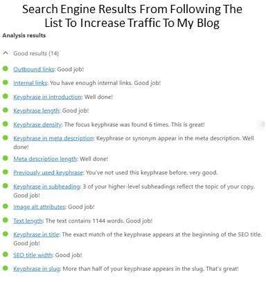 Search Engine Results Show Potential For Increased Traffic