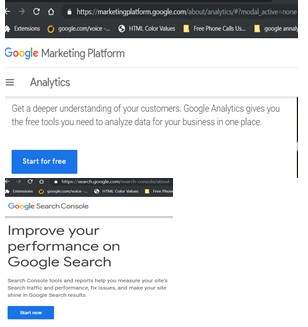 Step 7 Sign Up For Google Analytics and Search Console