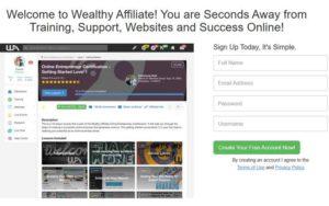 The Wealthy Affiliate Member Login