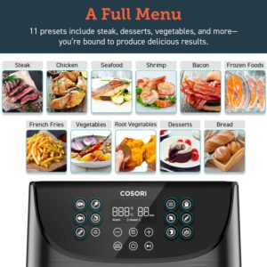 COSORI Air Fryer Full Menu