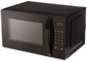 Best Compact Countertop Microwave Ovens - AmazonBasics Compact Microwave Black