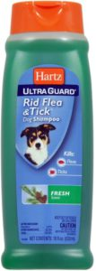 Best Dog Flea Shampoo - Hartz Flea Tick Shampoo