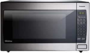 Best Full Size Countertop Microwaves - Panasonic NN-SD966S Silver