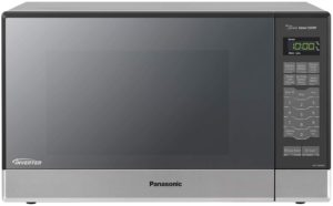 Best Mid-Size Microwaves - Panasonic NN-SN686S Steel-Silver