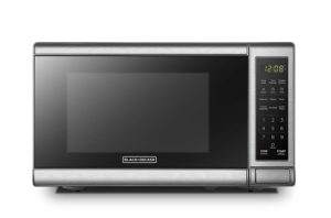 Best Compact Countertop Microwave Ovens - Black-Decker EM720CB7 Compact Microwave Oven