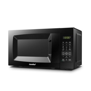Best Compact Countertop Microwave Ovens - COMFEE EM720PL-PMB Compact Microwave Oven Black