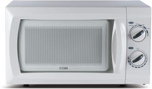Best Compact Countertop Microwave Ovens - Commercial Chef CHM660W Compact Microwave Oven White