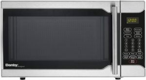 Best Compact Countertop Microwave Ovens - Danby DMW07A2SSDD Compact Microwave Oven Stainless Steel