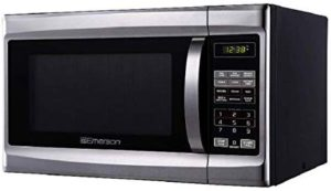 Best Mid-Size Microwaves - Emerson MW1338SB Mid-Size Microwave Stainless Steel Black