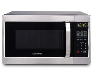 Best Compact Countertop Microwave Ovens - Farberware Classic FMO07AHTBKJ Compact Microwave Oven Stainless Steel