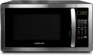 Best Mid-Size Microwaves - Farberware FMO11AHTBKB Mid Size Microwave Stainless Steel