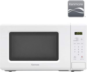 Best Compact Countertop Microwave Ovens - Kenmore 70722 Compact Microwave Oven White