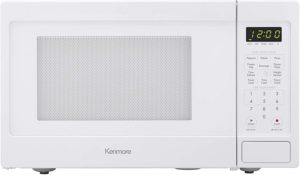 Best Mid-Size Microwaves - Kenmore 70912 Mid-Size Microwave White